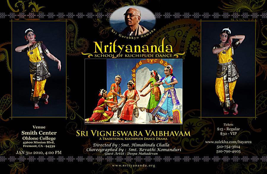 Nrityananda Dance flyer